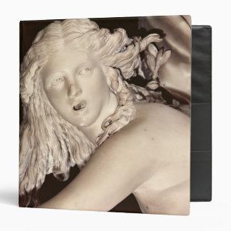 "Apolo y Daphne, detalle de la cabeza de Daphne Carpeta 1 1/2"""