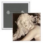 Apolo y Daphne, detalle de la cabeza de Daphne Pin