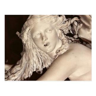 Apolo y Daphne, detalle de la cabeza de Daphne Postal