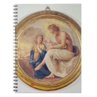 Apolo y Phaethon, c.1634 (fresco) Libro De Apuntes