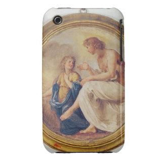 Apolo y Phaethon, c.1634 (fresco) iPhone 3 Case-Mate Cárcasa