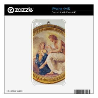 Apolo y Phaethon, c.1634 (fresco) Calcomanía Para El iPhone 4