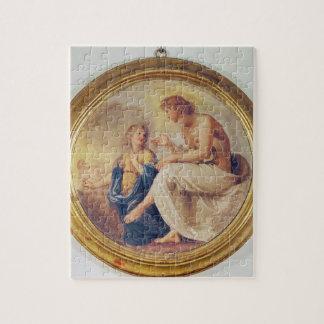 Apolo y Phaethon, c.1634 (fresco) Puzzle Con Fotos