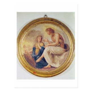 Apolo y Phaethon, c.1634 (fresco) Postal