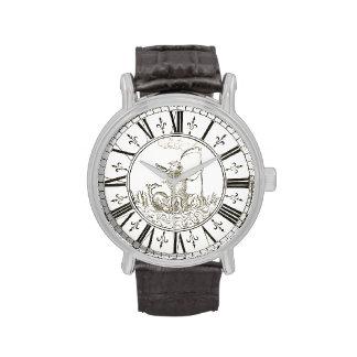 Apolo y vintage de Amphissa Juan 1775 Strasser Reloj De Mano