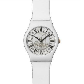 Apolo y vintage de Amphissa Juan 1775 Strasser Reloj