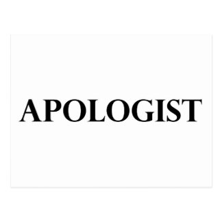 Apologist Postcard
