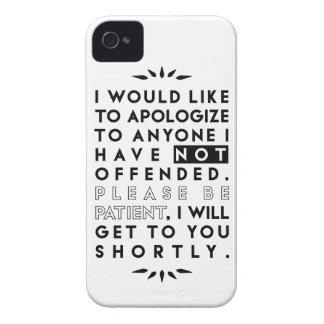 apologize iPhone 4 cover