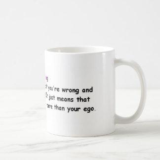 Apologizing Classic White Coffee Mug