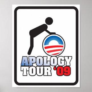 APOLOGY TOUR '09 POSTER