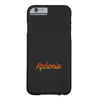 Apolonia Solid Black iPhone cover