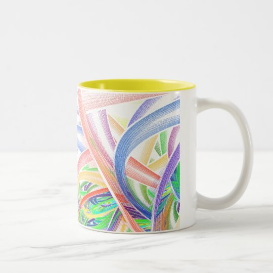 APOPHDESIGNS Two-Tone COFFEE MUG