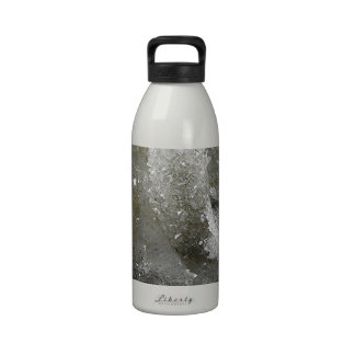 Apophyllite and Quartz Reusable Water Bottles