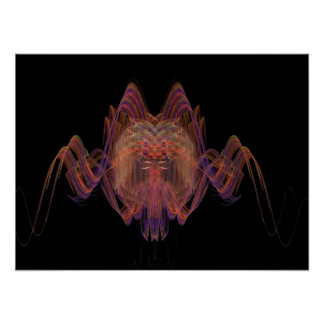 Apophysis-100625-1 NeonSpider Poster