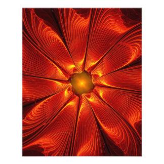 apophysis-421984 FIRE RED DIGITAL FLOWER apophysis Flyer