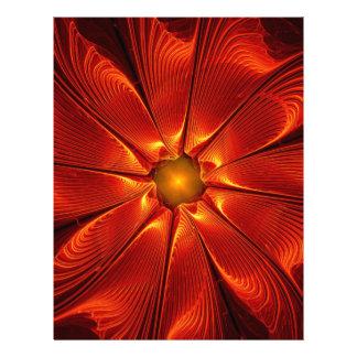 apophysis-421984 FIRE RED DIGITAL FLOWER apophysis Letterhead