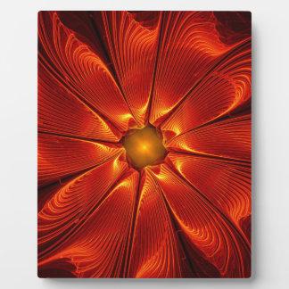 apophysis-421984 FIRE RED DIGITAL FLOWER apophysis Plaque