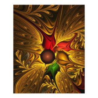 apophysis-421987 GOLDEN SCROLLS LEAVES DIGITAL BEA Flyer