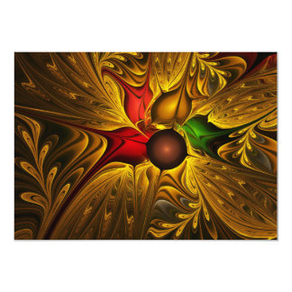 apophysis-421987 GOLDEN SCROLLS LEAVES DIGITAL BEA Cards