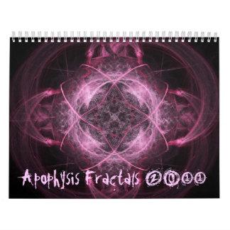 Apophysis Fractals 2011 Calendar