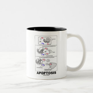 Apoptosis (Biology Cell Death) Two-Tone Coffee Mug