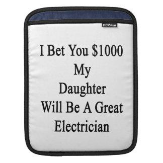 Aposté que usted 1000 mi hija será un gran Electri Manga De iPad