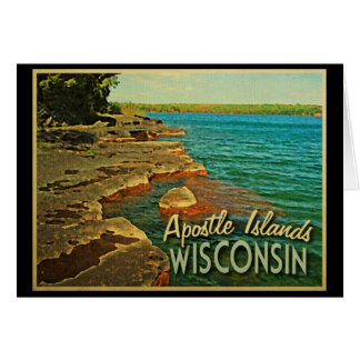 Apostle Islands Wisconsin Card