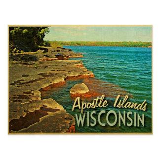 Apostle Islands Wisconsin Postcard