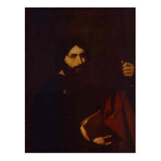 Apostle James the Minor by Jusepe de Ribera Postcard
