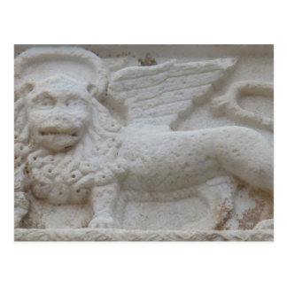 Apostle Mark Statue Napoli, Greece Postcard