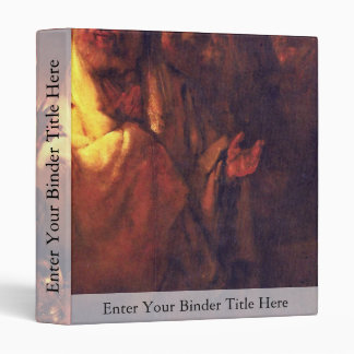 Apostle Peter Denies Christ,  By Rembrandt Harmens Vinyl Binder
