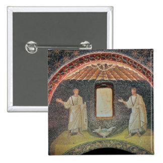 Apostles, 5th century (mosaic) button