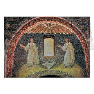 Apostles, 5th century (mosaic) greeting card