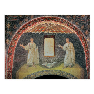 Apostles, 5th century (mosaic) postcard