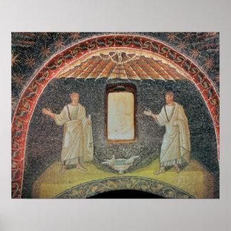 Apostles, 5th century (mosaic) posters