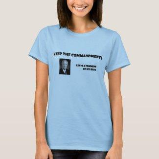 Apostles Like to Blog shirt