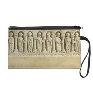Apostles under Arcades, carved relief, c.1150 (sto Wristlet Purses