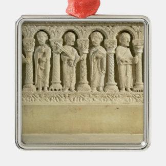 Apostles under Arcades, carved relief, c.1150 (sto Ornament