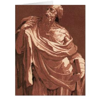 Apóstol 1505 tarjeta de felicitación grande