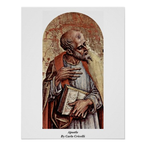 Apóstol de Carlo Crivelli Poster