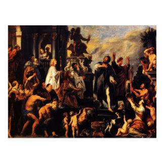 Apóstoles de Jacob Jordaens-The, San Pablo, St. Ba Postal