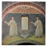 Apóstoles, siglo V (mosaico) Azulejo Cuadrado Grande