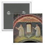 Apóstoles, siglo V (mosaico) Pin Cuadrada 5 Cm