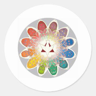 Apostolic Round Stickers