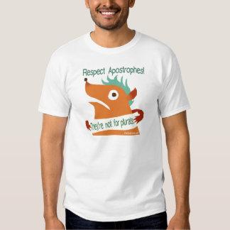 Apóstrofes del respecto -- camisa
