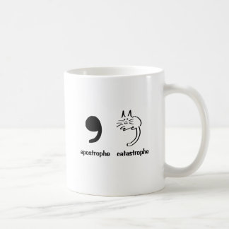 apostrophe catastrophe coffee mug