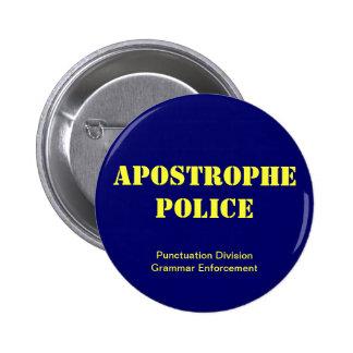 Apostrophe Police Button