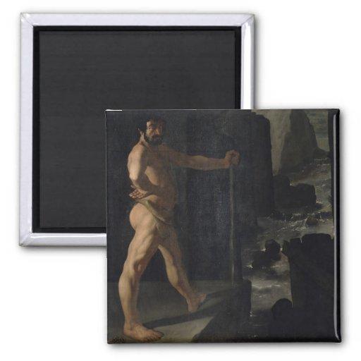 Apoteosis de Delacroix Imán Cuadrado