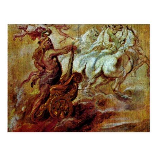 Apoteosis de Hércules de Rubens Peter Paul Tarjetas Postales