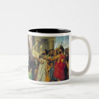 Apoteosis del home run, 1827 taza de café de dos colores
